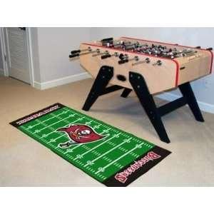 Tampa Bay Bucs Buccaneers Football Field Runner Area Rug/Carpet