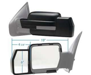 2009 2010, 2011 F150 SNAP ON TOWING TOW MIRROR EXTENSION (New Pair