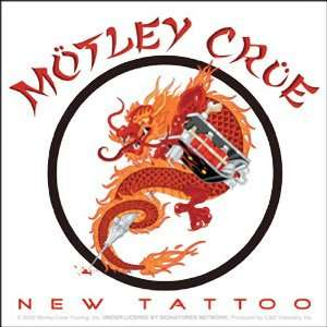 MOTLEY CRUE CHINESE DRAGON NEW TATTOO LOGO STICKER: Home