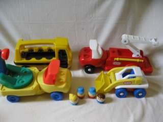 LITTLE TIKES TODDLE TOTS FIRETRUCK LOADER SCHOOLBUS BABY DAYCARE