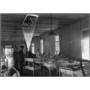 R Hayes Hamilton,motion pictures,bedridden patients,Walter