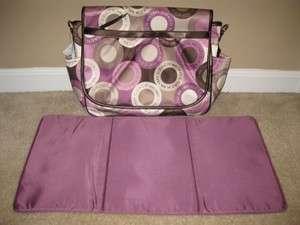 Coach Signature Baby Diaper Messenger Bag Purse Pink NEW 18377