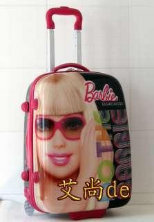 Barbie 18 Luggage Bag Baggage Trolley Roller 33858