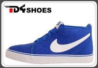 Nike Toki Canvas Blue Varsity Royal White Classic Shoes