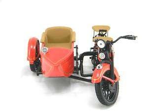 Harley Davidson 1933 Motorcycle Side Car Replica Bank
