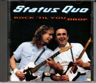 Status Quo Rock til You Drop 1991 JAPAN CD 1st Press PHCR 20 OOP HTF