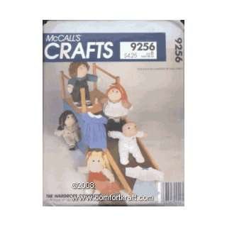 Soft Sculpture Doll Wardrobe, McCalls 9256 McCall  Books