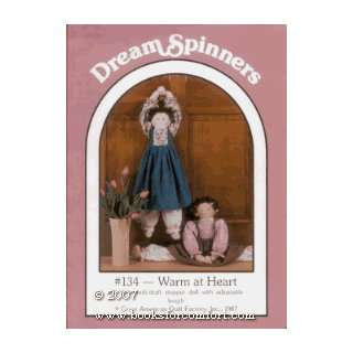 Warm at Heart #134, Soft Sculpture doll Lynda S Milligan Books