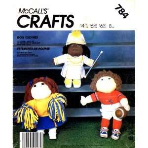 Pattern Soft Sculpture Sporty Doll Clothes Arts, Crafts & Sewing