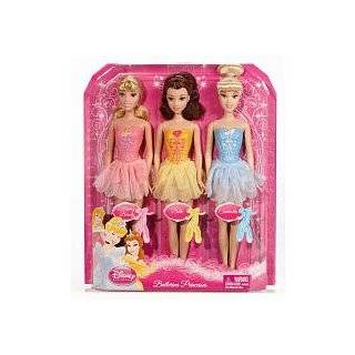 Disney Princess Ballerina Belle Sleeping Beauty Cinderella Dolls