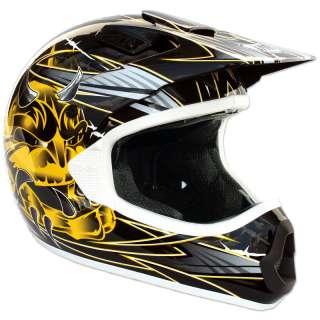 THH TX 10 TX10 #1 MX ENDURO ATV QUAD PIT DIRT BIKE ACU GOLD MOTOCROSS