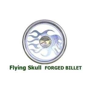 Flying Skull Full Wrap Billet Steering Wheels Automotive