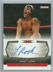 TNA Cross The Line Lance Rock Gold Foil Auto Autograph / 50 WWE