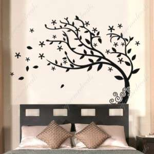 Bedroom decor must have  Elegant tree   Stickers Removable Vinyl Wall
