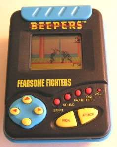 Tiger Electronics FEARSOME FIGHTER Vintage Electronic Handheld Hand