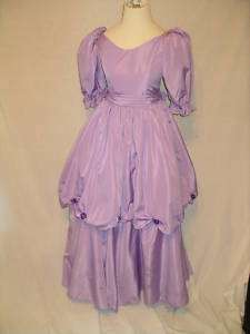 Lavendar Puffy Dress DISNEY PRINCESS BELLE COSTUME   8