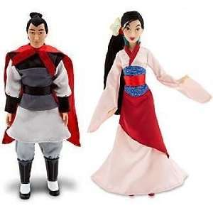 : Disney Princess Mulan & Prince Li Shang Friends Doll: Toys & Games
