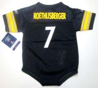 Pittsburgh Steelers Ben Roethlisberger Infant Onesie Football Jersey