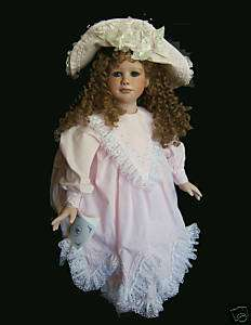Virginia Turner Original Porcelain Doll SPRING RAVEN