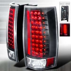 2007 2011 Chevy Tahoe, 2007 2011 GMC Denali Led Tail Lights Black