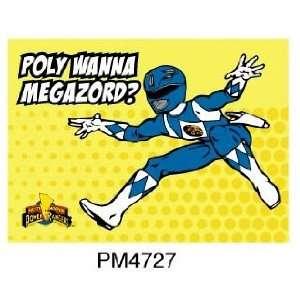 Magnet   Power Rangers   Blue Ranger Toys & Games