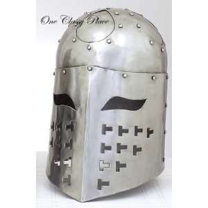 Medieval Helmet The Great Spangenhelm Knight Armor