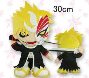 Bleach Ichigo Kurosaki w/ Hollow Mask 12 Doll Soft Plush Stuffed Toy