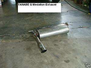 JDM TANABE Honda civic EF9 Exhaust muffler CRX EF8 EF