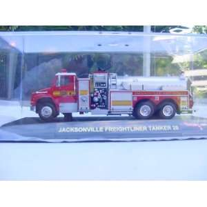 CODE THREE, JACKSONVILLE FIRE DEPARTMENT, FREIGHTLINER TANKER