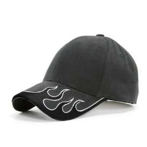FIRM BRIM ADJUSTABLE CHARCOAL/BLACK/GRAY HAT CAP HATS