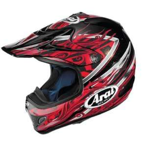 ARAI VX PRO 3 HELMET   BRISK (X LARGE) (RED) Automotive