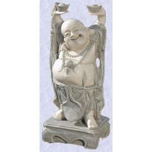 jolly Asian buddha statue home garden hotei sculpture