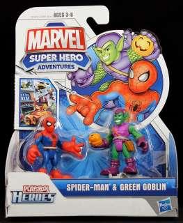 2011 HASBRO MARVEL SUPERHERO SQUAD PLAYSKOOL SPIDER MAN