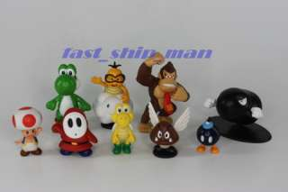 Super mario kart mobile clear Strap 10p + 17 figure