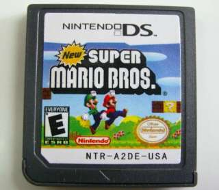 Super Mario Bros for Nintendo DSI NDL NDSi DSIXL DSiLL 3DS XL LL Video