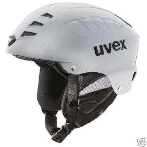 Uvex Super Helix Freeride Bike Helmet, silver, x small.