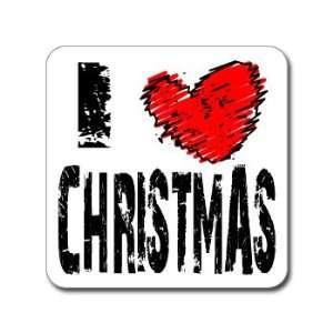 I Love Heart CHRISTMAS   Day Holiday   Window Bumper