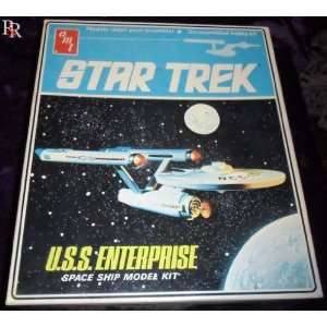 Star Trek USS Enterprise Space Ship Model Kit Toys & Games