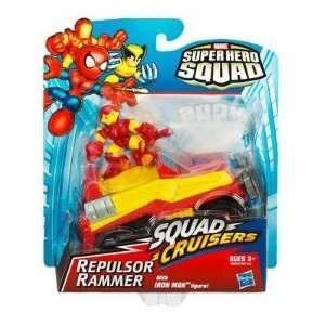2009 Marvel Super Hero Squad SQUAD CRUISERS REPULSOR