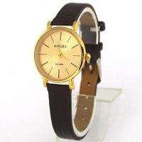 Brown Fashion Lady Girl Womens Quartz Wrist Watches, A202