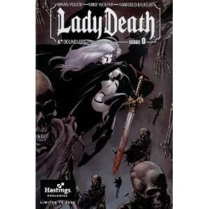 Lady Death #0 Hastings Exclusive: Brian Pulido, Marcelo Mueller: Books