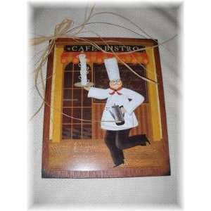 Cafe Bistro Coffee Chef Kitchen Sign Espresso Java Art