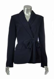 Sutton Studio Womens Tie Front Long Sleeve Jacket  Assorted Sizes