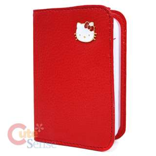 Sanrio Hello Kitty Credit Card Holder Wallet Red 2