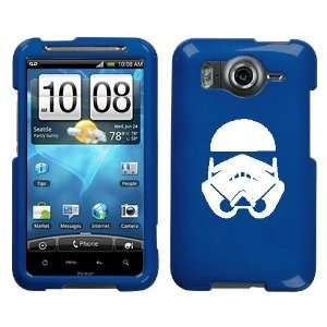HTC INSPIRE 4G WHITE STORMTROOPER ON A BLUE HARD CASE
