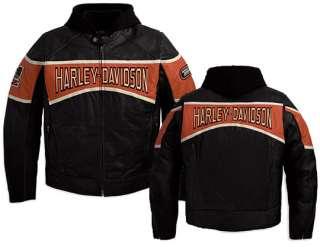 NWT Harley Davidson Mens Motor 3 in 1 Leather Jacket 98018 10vm   2XL