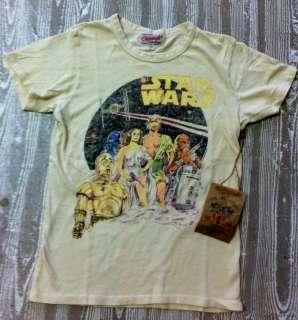 Licensed Junk Food Vintage Star Wars Characters Together Women Junior