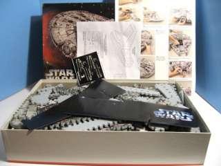 1995 Wrebbit Star Wars Millenium Falcon Spaceship 3D Jigsaw Puzzle