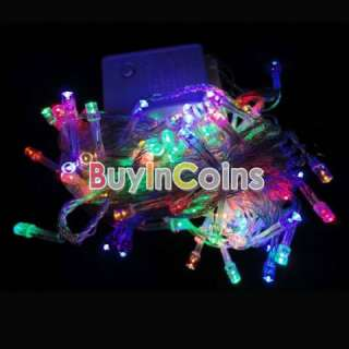Colorful Christmas Led Light String Garden Home Tree Decoration Party