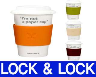 LOCK&LOCK ECO CERAMIC pottery coffee Tea Mug Cup COLOR